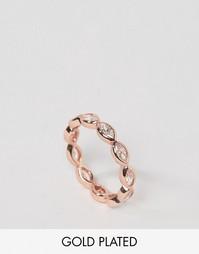 Позолоченное кольцо Gorjana Blakely - Золотой