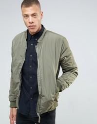 Куртка-пилот Selected Homme - Зеленый