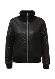 Куртка кожаная EA7