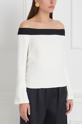 Блузка Heaney Roland Mouret