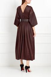 Шелковое платье Ozan Asian Spirit