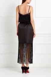 Шелковая юбка Anna Stevar