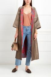 Шелковое пальто Jahanzeb Asian Spirit