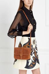 Замшевая сумка COLETTE Grace Atelier De Luxe