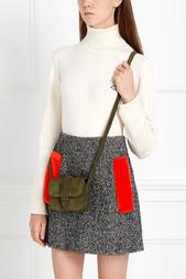 Замшевая сумка BABY COLETTE Grace Atelier De Luxe