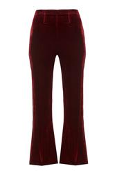 Бархатные брюки Connor Roland Mouret