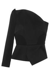 Асимметричная блузка Dryden Roland Mouret