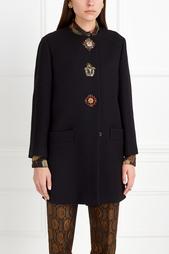 Шерстяное пальто Etro
