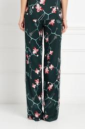 Шелковые брюки Natalia Gart