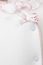 Хлопковый комбинезон Dior Children