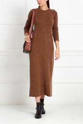 Платье из шерсти и кашемира GRANITE Caramel