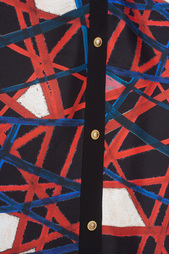 Шелковая блузка Fausto Puglisi