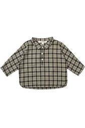 Хлопковая рубашка Coal Baby Caramel Baby&Child