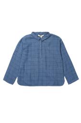 Хлопковая рубашка Coal Caramel Baby&Child