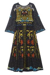 Платье из шерсти и шелка Alena Akhmadullina