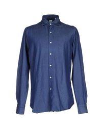 Джинсовая рубашка Finamore 1925