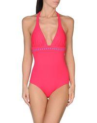 Слитный купальник Pink BOW