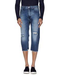 Джинсовые брюки-капри Paura