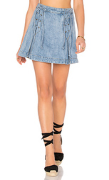 Юбка denim lace up - Free People