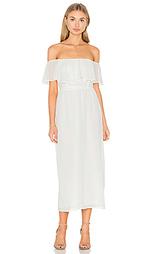 Платье со спущенными плечами - WAYF