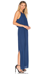 Платье с воротником хомутик kaden - Three Eighty Two