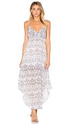 Платье-макси с перекрестными шлейками на спине - Gypsy 05