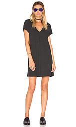 Мини-платье с v-образным вырезом - Lanston