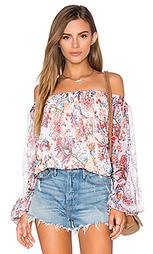 Блуза с открытыми плечами - Haute Hippie