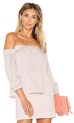 Блуза с открытыми плечами - MILLY