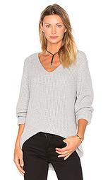 Мешковатый свитер с v-образным вырезом willa - three dots