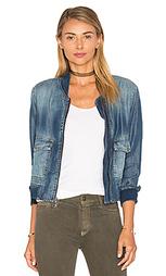 Куртка-бомбер с накладным карманом - Bella Dahl