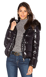 Куртка с мехом енота adhara - Duvetica