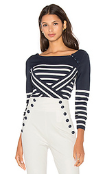 Свитер technical stripe - Tommy Hilfiger