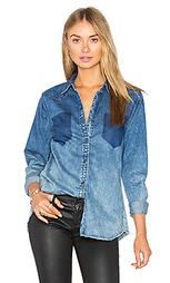 Джинсовая рубашка на пуговицах - BLANKNYC