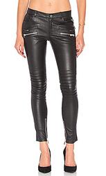 Кожаные брюки для байка - ANINE BING