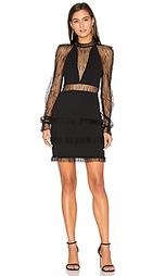 Кружевное платье с глубоким вырезом filigree - NICHOLAS