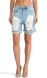 Джинсовые шорты рваные - BLANKNYC