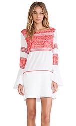Платье с вышивкой kilim - Vix Swimwear