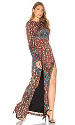 Платье-макси с открытой спиной bolnisi rug - Mara Hoffman