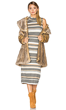 Пальто из искусственного меха elixir - Unreal Fur
