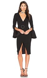 Текстурированное платье из крепа - NICHOLAS