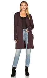 Длинное драпированное пальто - Michael Stars