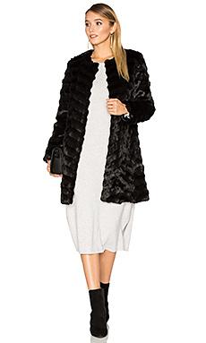 Пальто из искусственного меха dream catcher - Unreal Fur