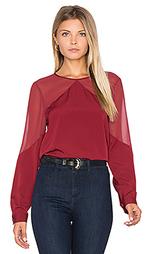 Блуза с кокеткой и сборками - 1. STATE