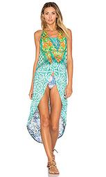 Платье с асимметричным подолом botanical sky - Maaji