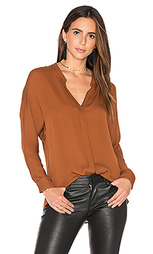 Блуза с двойной полосой - Vince