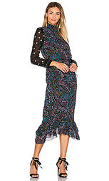 Шелковое платье isa - SALONI