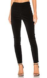 Бесшовные джинсы с высоким поясом looker - MOTHER