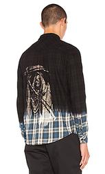 Фланелевая рубашка на пуговицах reaper - SSUR