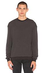 Свободная теплая рубашка с круглым вырезом - JOHN ELLIOTT
